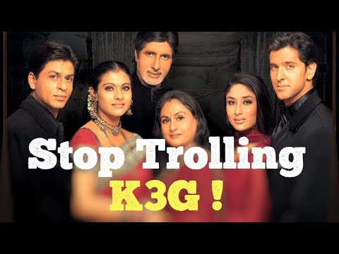 Why K3G Should Not Be Trolled | Shah Rukh Khan | Amitabh ...