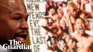 'I can do three rounds in my sleep,' says Mayweather before fight with Nasukawa