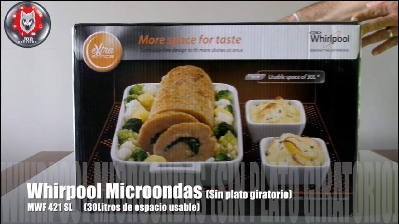 Whirlpool MWF 421 SL Countertop - Microwaves - YouTube