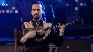 Shagriyar Imanov, Tar musician from Azerbaijan and Natig Rhythm group, drummers from Azerbaijan