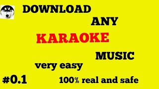 how to download any karaoke song in hindi