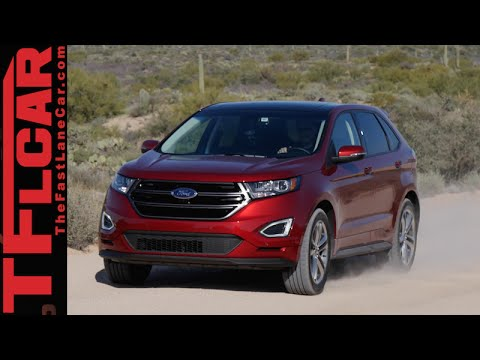 2015 Ford Edge First Drive Review in TFL4K: A New, New Age Crossover