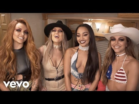 Little Mix - No More Sad Songs ft. Machine Gun Kelly (Behind the Scenes)