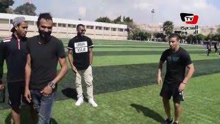 لاعب جولدي يقلد إبراهيم سعيد