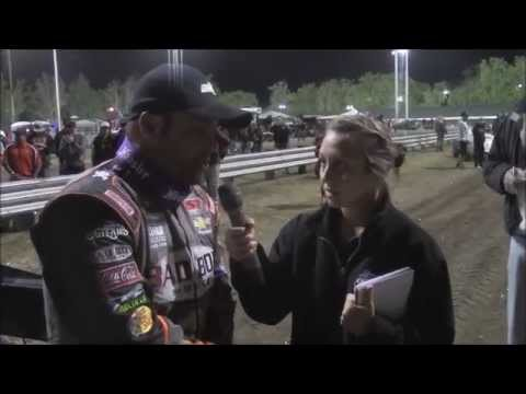 2015 World of Outlaws Sprint Car Series Victory Lane Night 2 at Calistoga Speedway