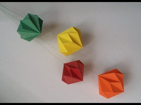 How to Make your own origami magic ball « Origami :: WonderHowTo | 360x480