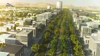 IHFD Kabul New City Development Animation