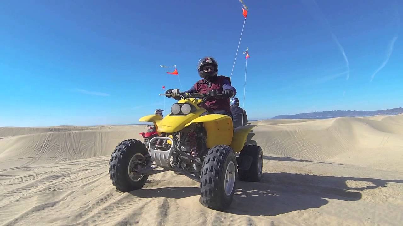 Crash Quad Riding Pismo Beach Sand Dunes The Heavy How You