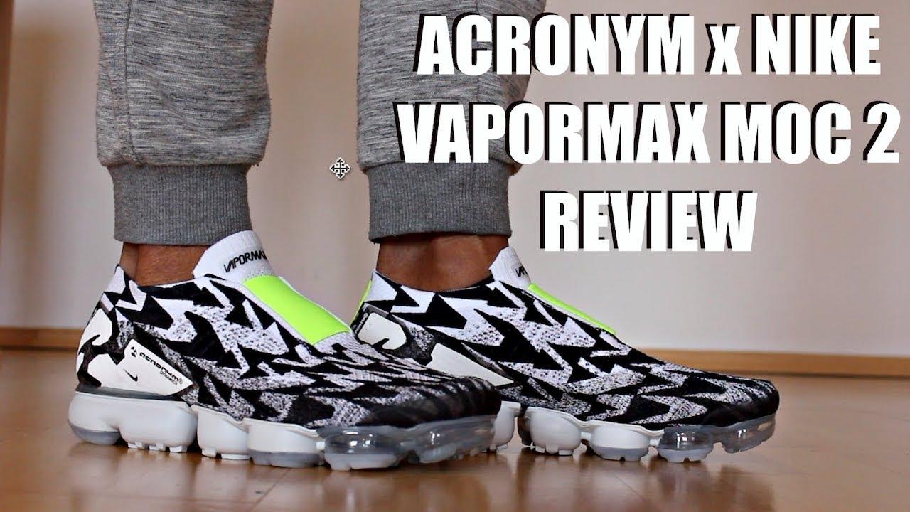 5d2c766319c8c NIKE ACRONYM VAPORMAX MOC 2 REVIEW + ON FEET - YouTube