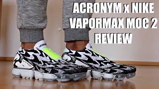 NIKE ACRONYM VAPORMAX MOC 2 REVIEW + ON FEET