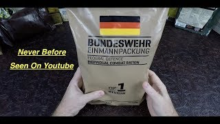 RARE MRE Review German EPA BUNDESWEHR Type 1 Made In France !!!