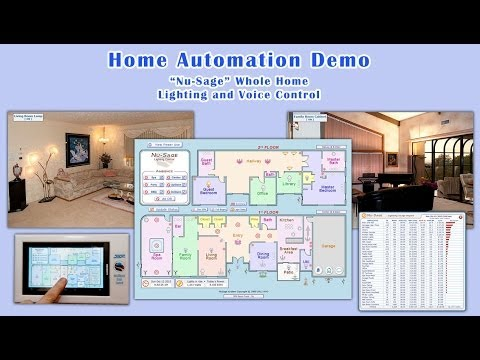 Home Automation Lighting and Voice Control Demo