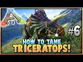 ARK Survival Evolved TAMING A TRIKE S2 Ep 6 w MEOLA