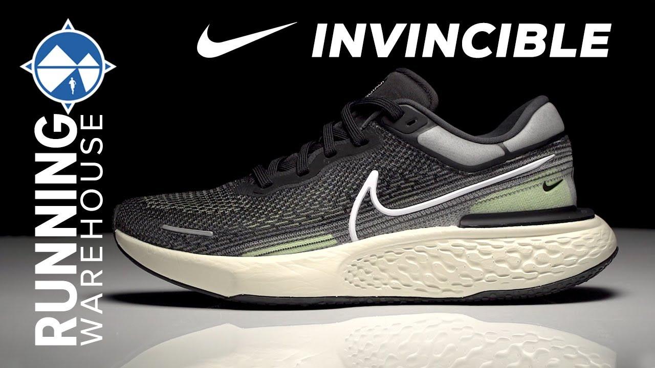 Mierda mayor Niños  Nike ZoomX Invincible Run Flyknit First Look   Most Comfortable Nike  Running Shoe Ever?? - YouTube