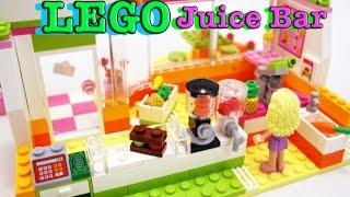 Лего фреш бар конструктор Lego Hardlake juice bar Видео для детей(Лего фреш бар конструктор из которого мы соберем фруктовый бар для подружек Андреа и Найа. Это очень интере..., 2015-07-17T04:20:11.000Z)