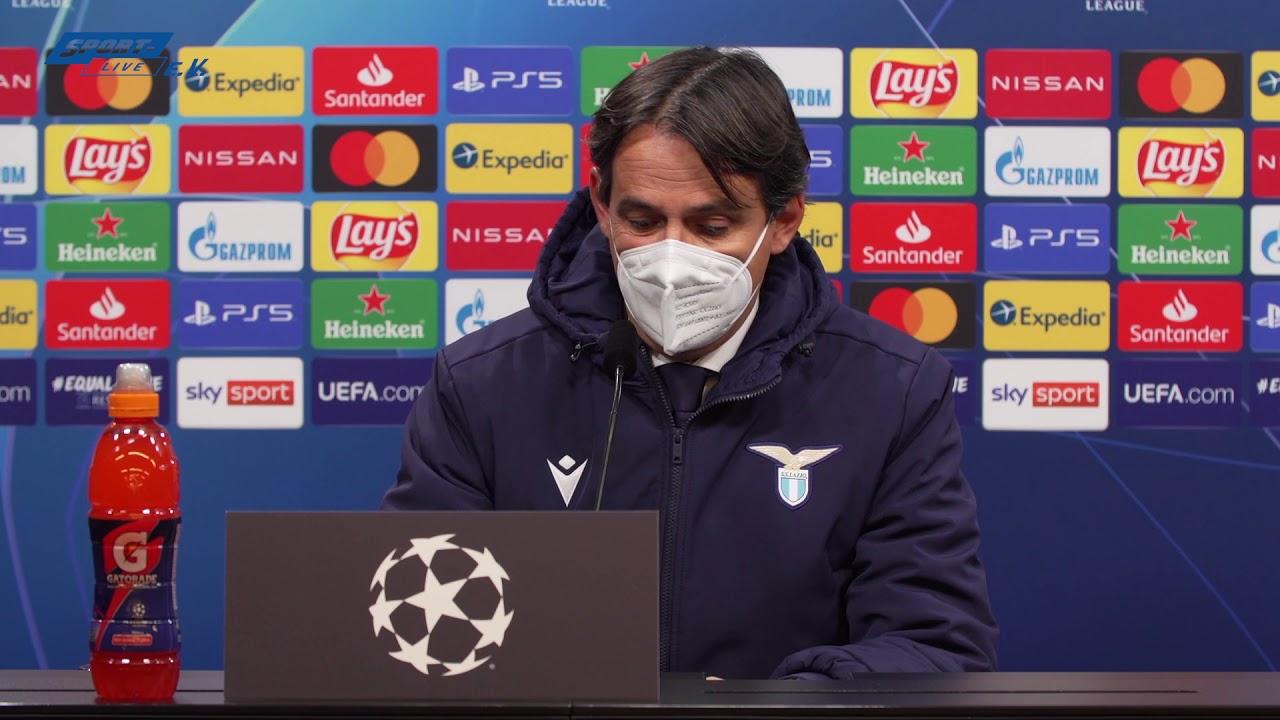 Borussia Dortmund - Lazio Roma: Conferenza stampa della Lazio Roma