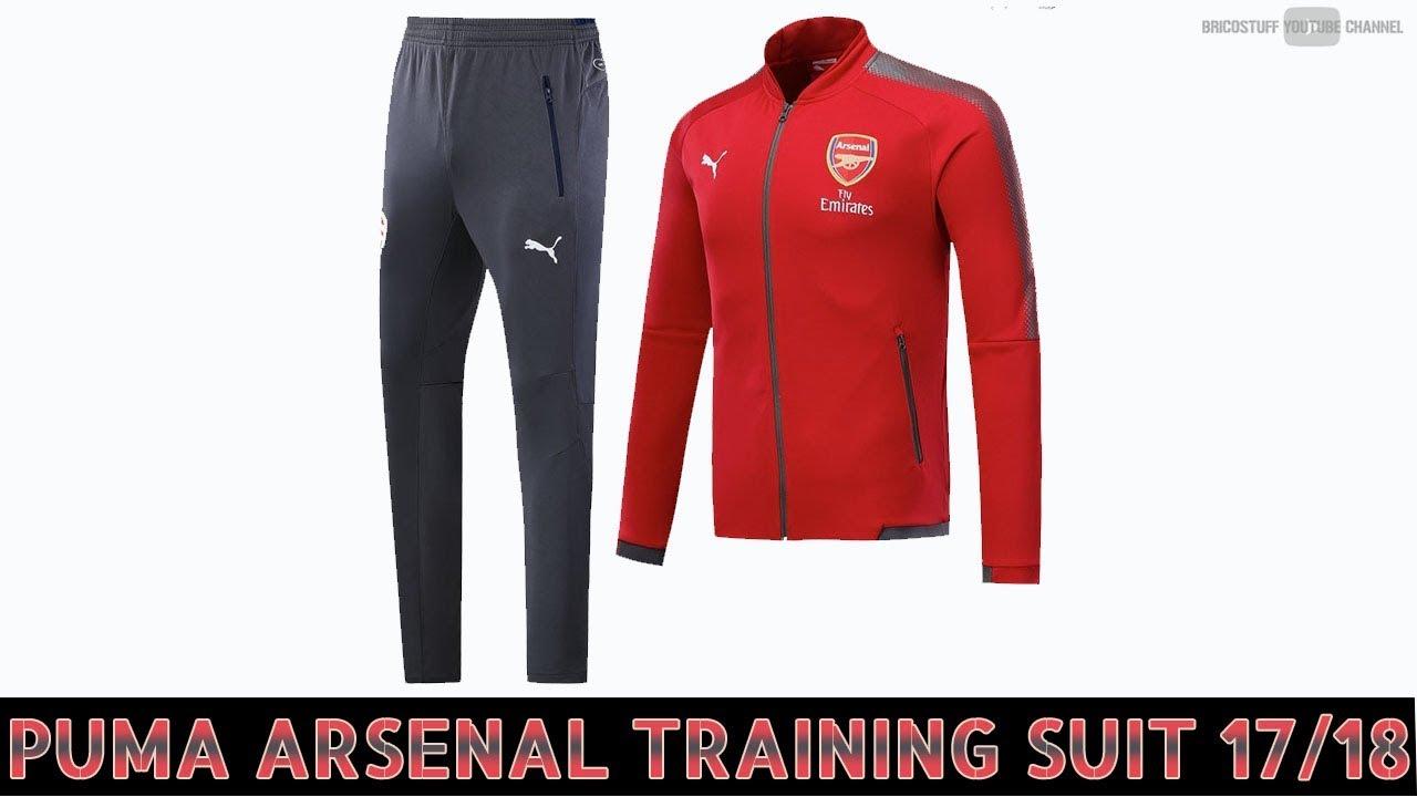 ⚽️ Déballage Survetement Puma Arsenal Training