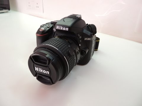 Nikon D5300 Unboxing And Overview