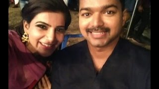 vijay is the best forever says samantha vijay 59 movie shooting spot vijay59 vijay kakki movie