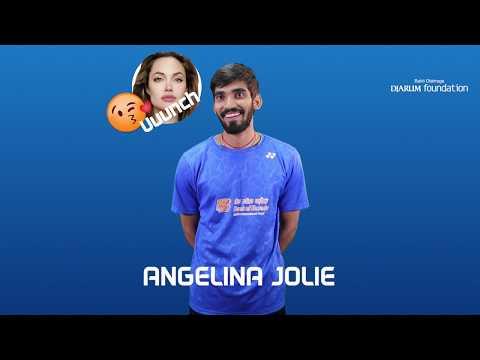 Srikanth Kidambi - Speed Quiz at BCA Indonesia Open 2017