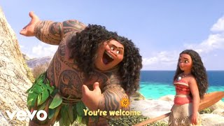 "Dwayne Johnson - You're Welcome (From ""Moana""/Sing-Along)"