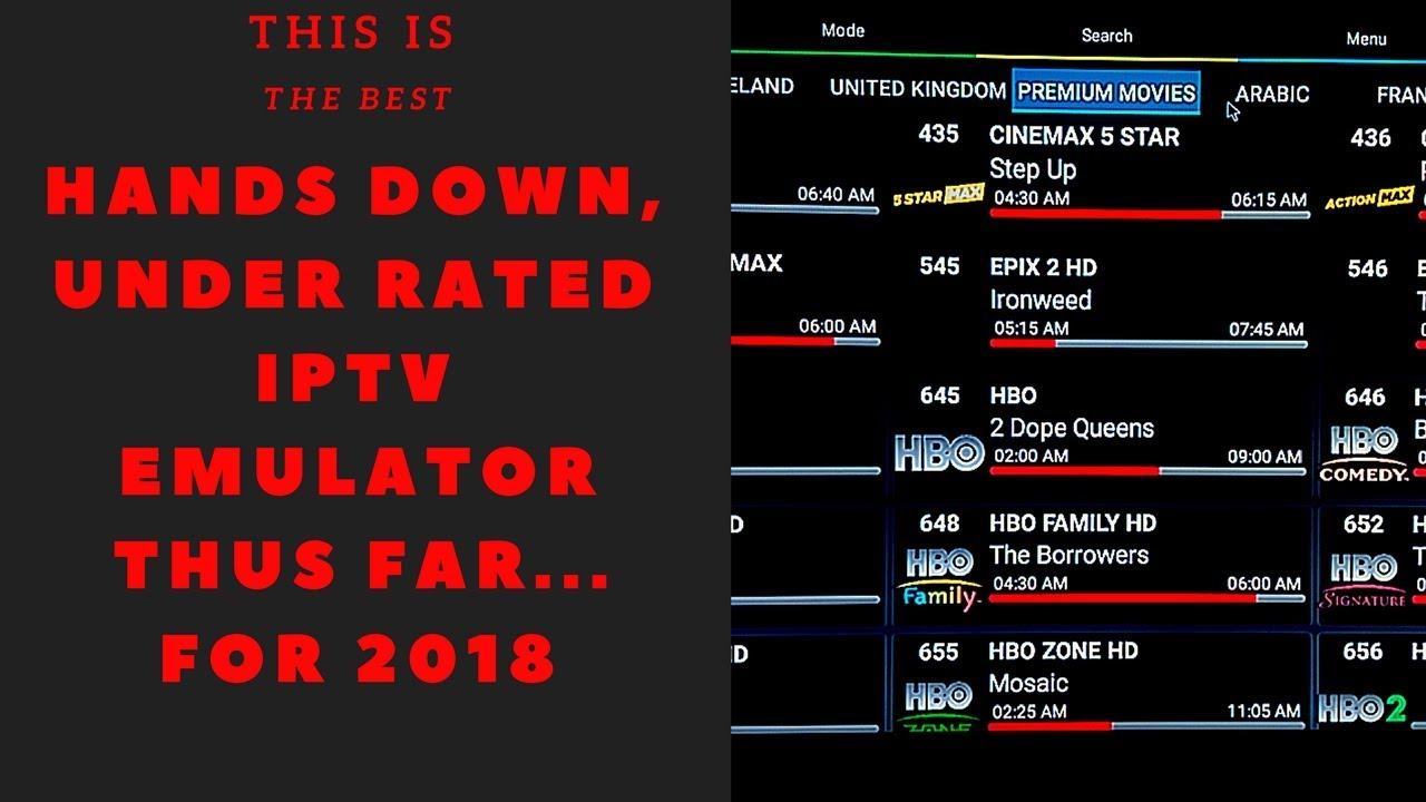 (NEW)BEST IPTV PLAYER FOR 2018 AND FULLY CUSTOMIZABLE !!! MUST SEE !!!