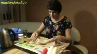 Цветы из ткани. Мастер-класс: обработка ткани желатином (handmade)(Бесплатно - 15 видео мастер-классов по созданию цветов из ткани. Посмотрите на сайте: http://master.masterclass2.ru/ Мастер..., 2013-01-18T18:17:17.000Z)