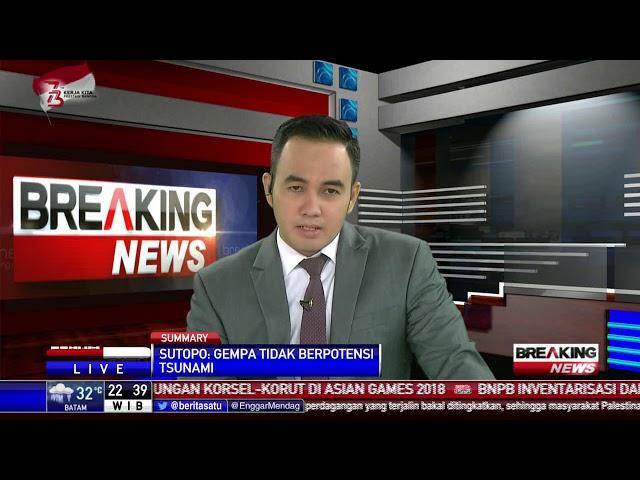 Guncangan Berkekuatan 6 MMI Terasa di Lombok Timur