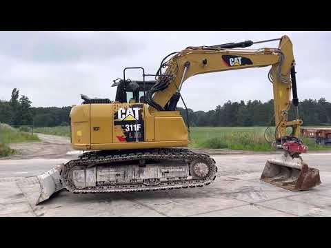Used heavy machinery Caterpillar 311F LRR Гусеничный экскаватор
