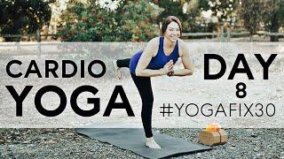 Yoga HIIT (Day 8) Cardio Yoga Fix 30 With Fightmaster Yoga