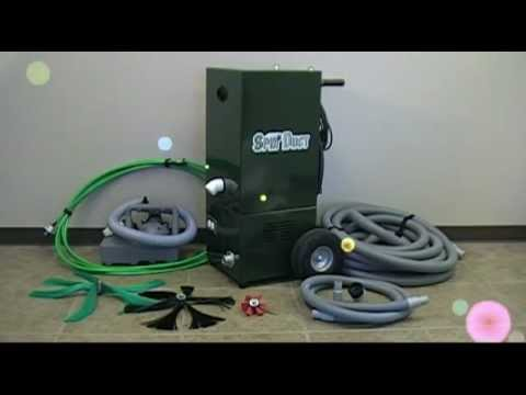 SpinDuct Professional Air Duct Cleaning System
