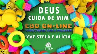 Deus cuida de mim: A história da filha de Jairo e o testemunho da Yve Stela   EBD On-LINE