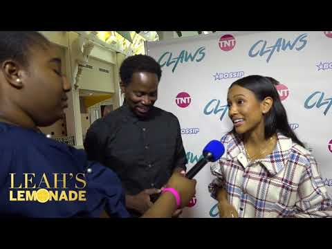 Claws Premiere D.C. Red Carpet with Karrueche Tran and Harold Perrineau thumbnail