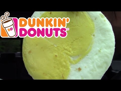 Dunkin Donuts NEW SAME OLD Egg & Reese