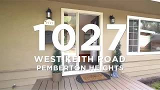 For Sale  - 1027 West Keith Road North Vancouver
