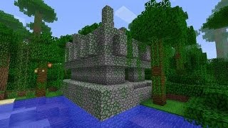 Храм в джунглях в Minecraft PC(Сид 378963101468007711 приятной игры ;), 2016-02-28T13:32:24.000Z)