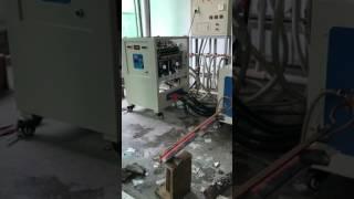 Нагрев двух заготовок для наплавки лемехов на ВЧ-120АБ
