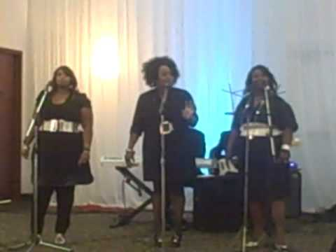 "Women of Grace singing Karen Clark Sheard's ""Favor"""