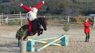 Père Noël en liberté