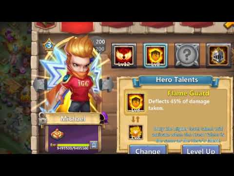 Plant Warrior Vs Top-22 BEAST | 9/9 Sacred Light | 12/12 Skill | No Warden | Castle Clash