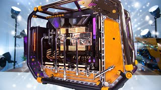 $11,500 ULTIMATE High End Water Cooled Gaming & EDITING PC Build | Threadripper