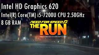 Intel HD Graphics 620 l Gameplay l Need For Speed RUN