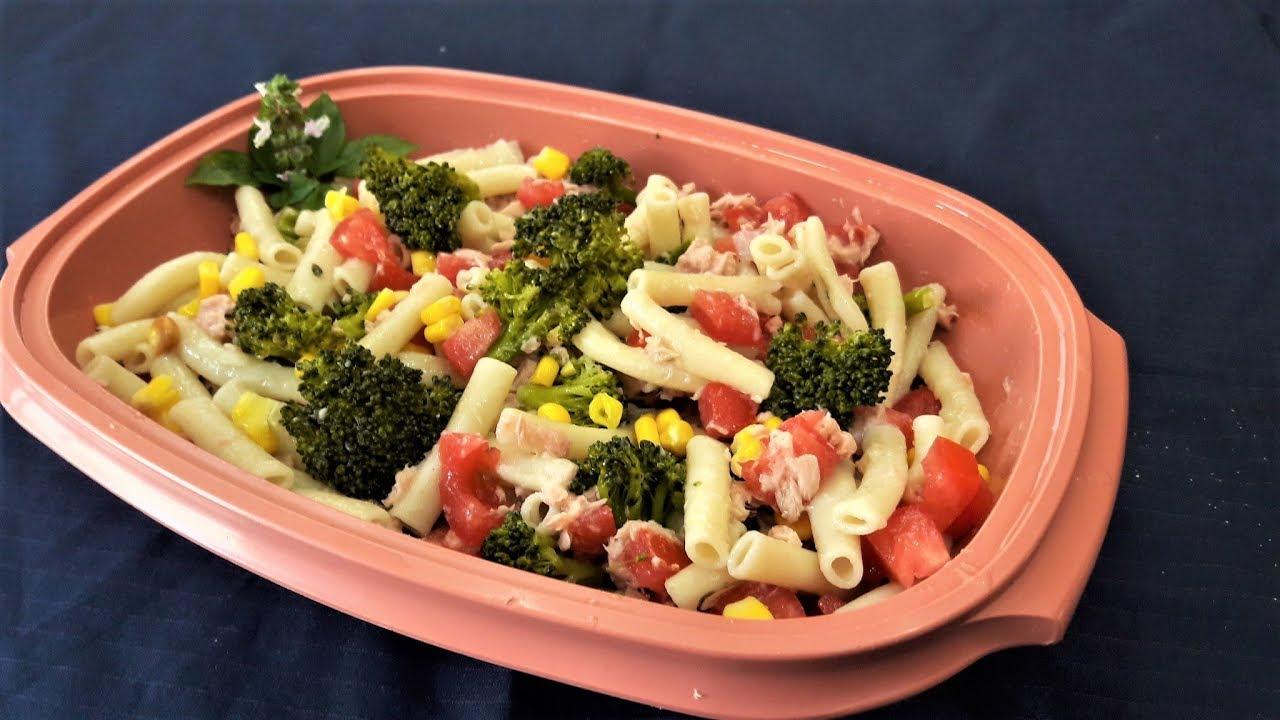 ensaladas con brocoli y atun
