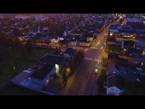 Sarpsborg Norway - Dji Mavic Pro 4K footage