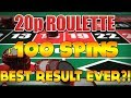 My BIGGEST Run on Roulette Numbers EVER!!