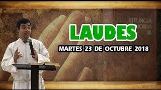Oración de la mañana (Laudes), MARTES 23 DE OCTUBRE 2018 | Padre Sam
