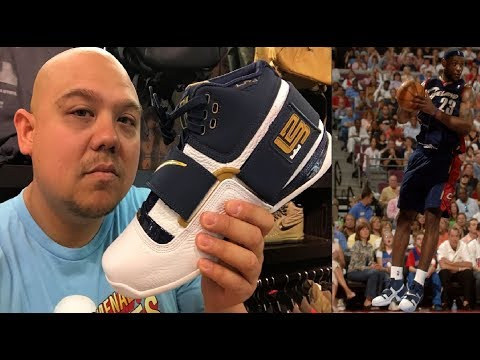 Nike LeBron James Soldier 1 #CAVS Retro 25 Straight  Sneaker Review - Sweet 16 Collection