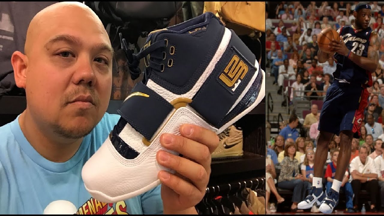 30bdfbf9122 Nike LeBron James Soldier 1  CAVS Retro 25 Straight Sneaker Review - Sweet  16 Collection