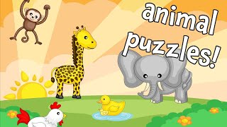 ULTIMATE Wild and Farm Animal Puzzle Game for Kids! screenshot 3