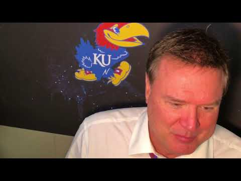 Coach Self after KU's win over WVU in the Big 12 Championship